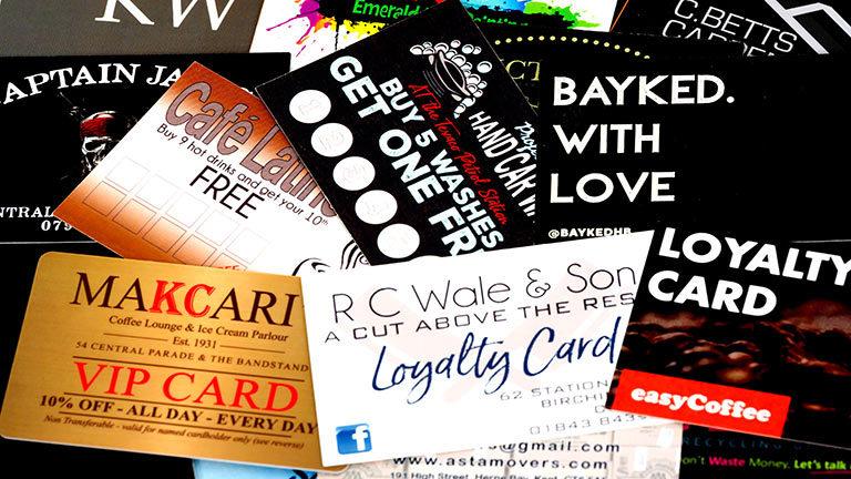 Printing Loyalty Cards H2 4
